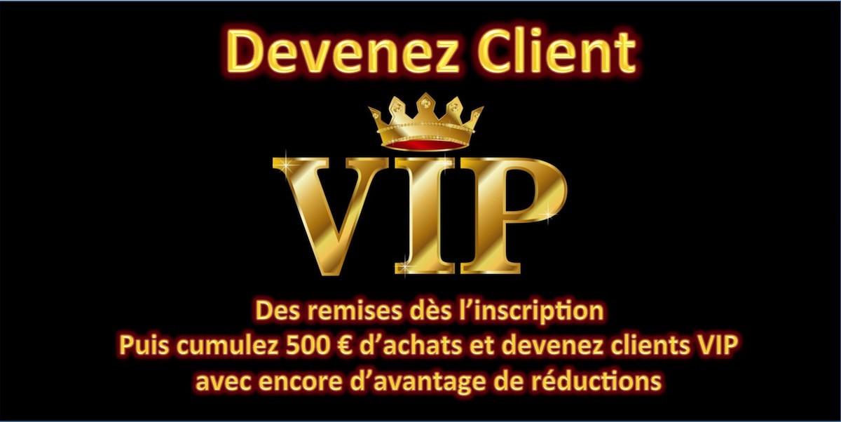 Devenez client VIP SPIRIT DIVE