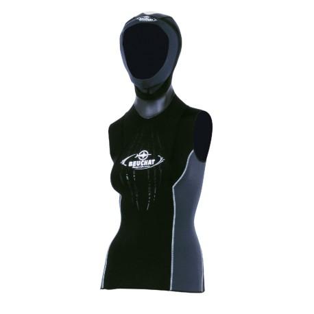Gilet Focea - 2.5mm Femme avec cagoule attenante