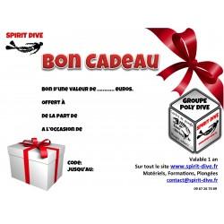 Bon Cadeau Spirit Dive