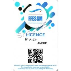 Licence 2020 /2021 FFESSM à prix coûtant