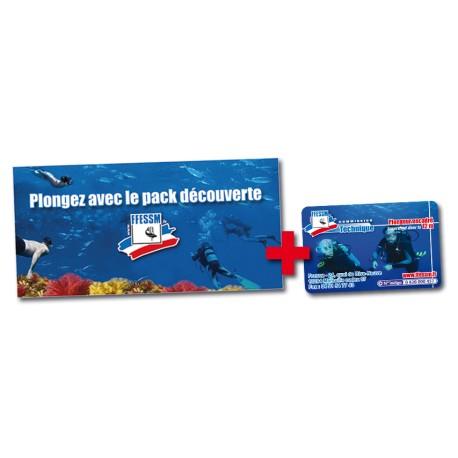 Pack Découverte 3 plongées