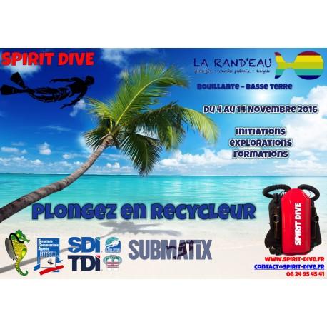 Trip Recycleur Submatix Guadeloupe Novembre 2016