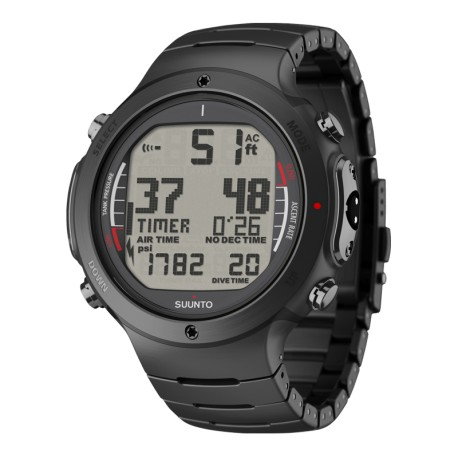Ordinateur SUUNTO D6i NOVO BLACK STEEL
