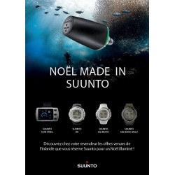 Pack SUUNTO D6 NOVO SILICONE BLACK + EMETTEUR DE PRESSION + INTERFACE